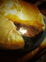 Weight Watches Minced Meat Pie