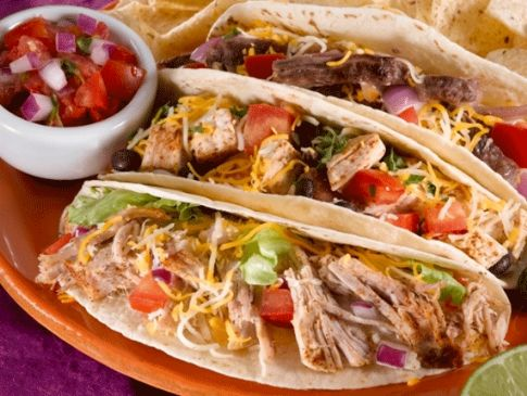 Tex Mex Chicken Tacos Recipe | SparkRecipes