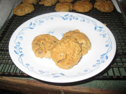 Peanut Butter Oatmeal Chocolate Chip Cookies gluten Free