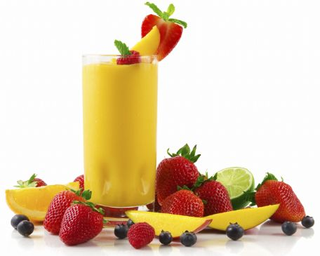 Tropical Fruit Energy Smoothie
