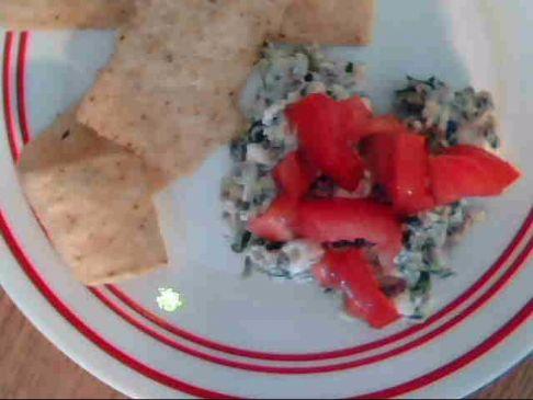 Spinach Tomato Dip