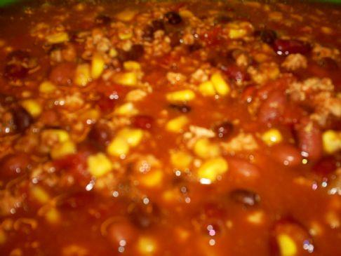 Julie's Scrumptious Taco Soup