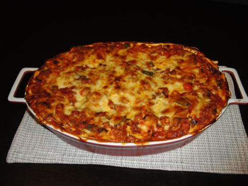 Robin's Chicken and Veg Lasagna