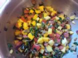 Ben's kickin' Mango Salsa (fish or chicken topping)
