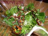 Chocolate bell pepper salad (www.cookoutloud.com)