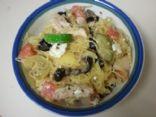 Spaghetti Squash w/ Chicken