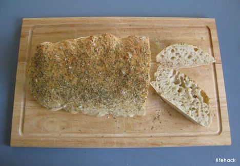 One-Minute Ciabatta Bread