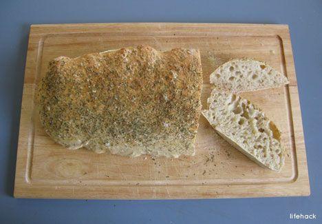 One-Minute Ciabatta Bread