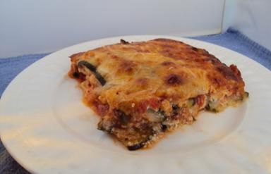 Low-Carb Zucchini Lasagna