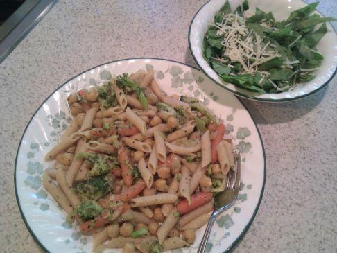 Chick Pea & Pasta Salad