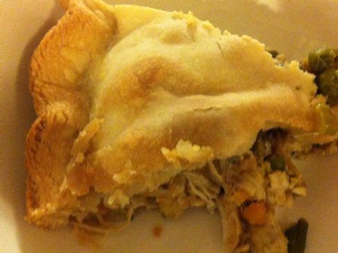 Chicken & Vegetable Loaded Pot Pie