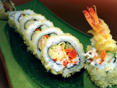 Sushi Roll- Tempura Shrimp