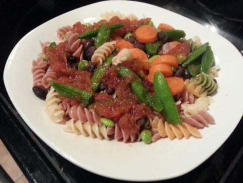 Veggie Marinara Pasta #FITFOOD
