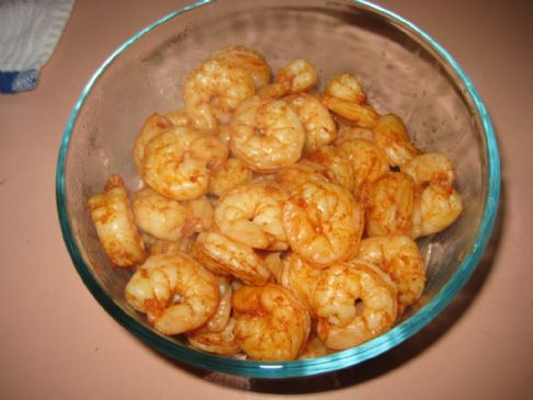 Spicy Broiled/Grilled Shrimp