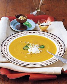 Apple-Butternut Squash Soup (Martha Stewart Recipe)