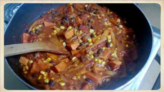 Southwest Sweet Potato Chili