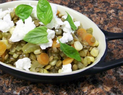 Herbed Lentils