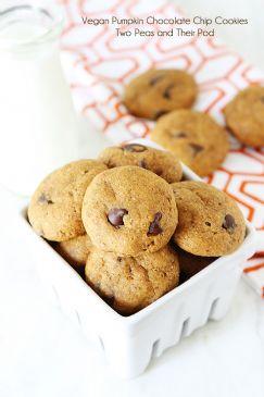 Healthy Pumpkin walnut cookies