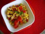 Roasted Corn & Pepper Salad