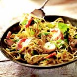 Scallops & Shrimp with Linguine