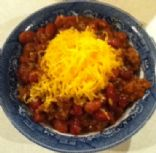 Anita's rock your socks slow cooker chili