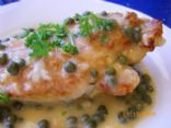 Skillet Lemon Chicken With Capers