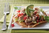 Tequila Lime Chicken Toastadas