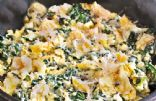 Spinach Parmesan Scrambled Eggs
