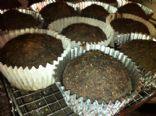 Chocolate Mud Pie Muffins (VEGAN)