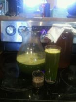 Green Raw Breakfast or Snack Juice