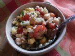Quinoa Garbanzo Bean  Salad