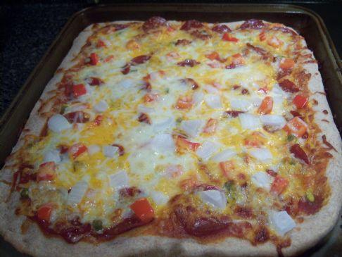 Wheat Pizza Crust
