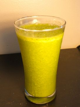 Best Tropical Green Smoothie
