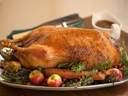 Roast Goose & Stuffing