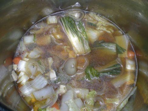 Asian Style Tofu Soup