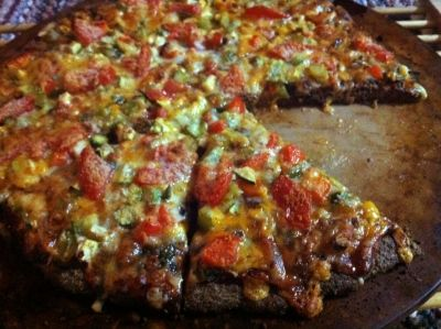 Flax Pizza Crust