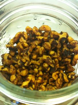 Toasted Cinnamon Walnuts