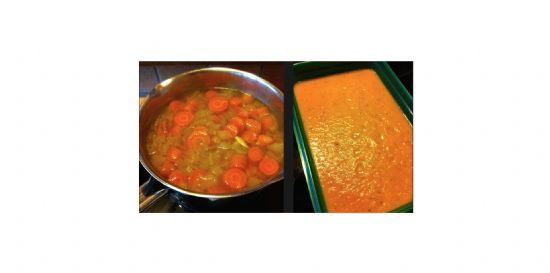 Carrot and Coriander Soup (Carol Vorderman's Detox For Life)
