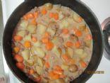 Ground Beef Stew Skillet