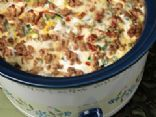 Slow Cooker Turkey Sausage Breakfast Casserole