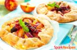 Country Peach Tart (Galette aux Peches)