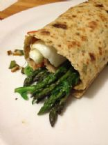 Asparagus and Egg Breakfast Roll-up