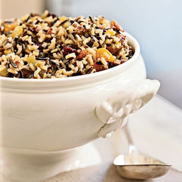 Wild Rice w/ Water Chestnuts & Mushrooms