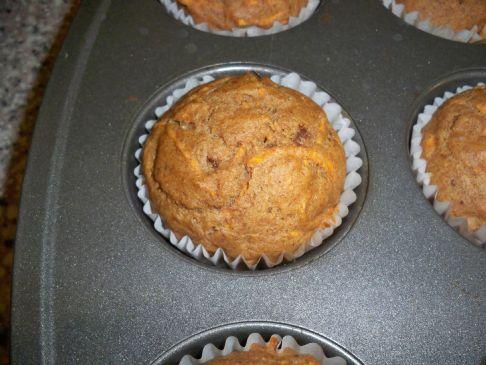 Shredded Sweet Potato Muffins