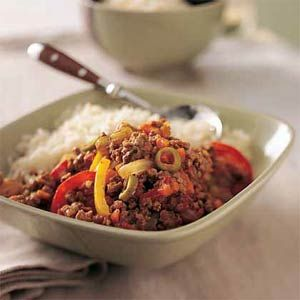 Healthy Picadillo w/ Bison
