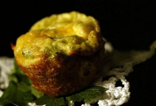 Broccoli Beef Mini Quiche