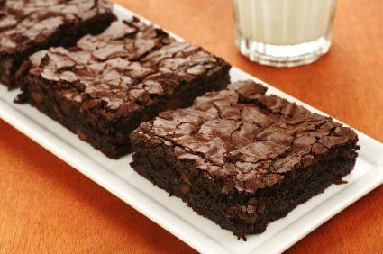 High Fiber Brownies
