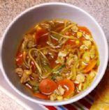 Veggie Loaded Chicken Soup