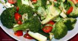 Broccoli Zucchini & Tomato Salad