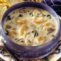 Creamy shrimp spinach stew recipe sparkrecipes for Creamy fish stew